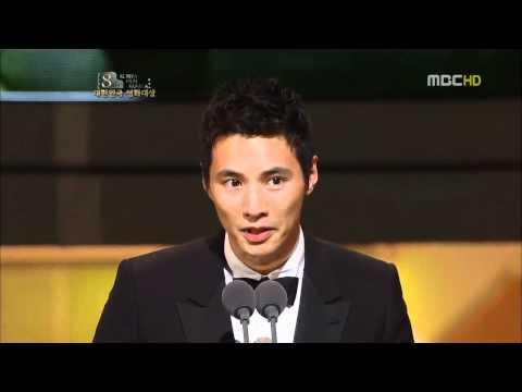20101118 대한민국영화대상 원빈남우주연상수상소감
