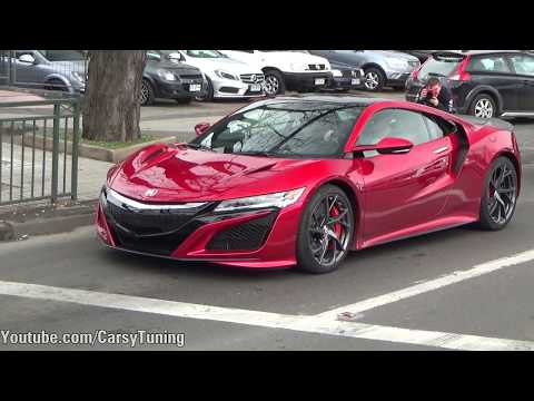 2017 Acura NSX in Chile!