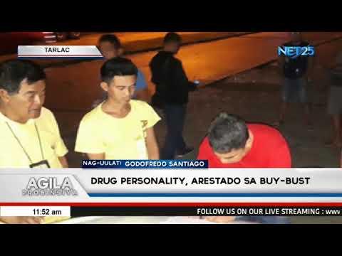 Drug personality, arestado sa buy-bust operation sa Tarlac City