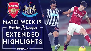 Arsenal v. Newcastle | PREMIER LEAGUE HIGHLIGHTS | 1/18/2021 | NBC Sports