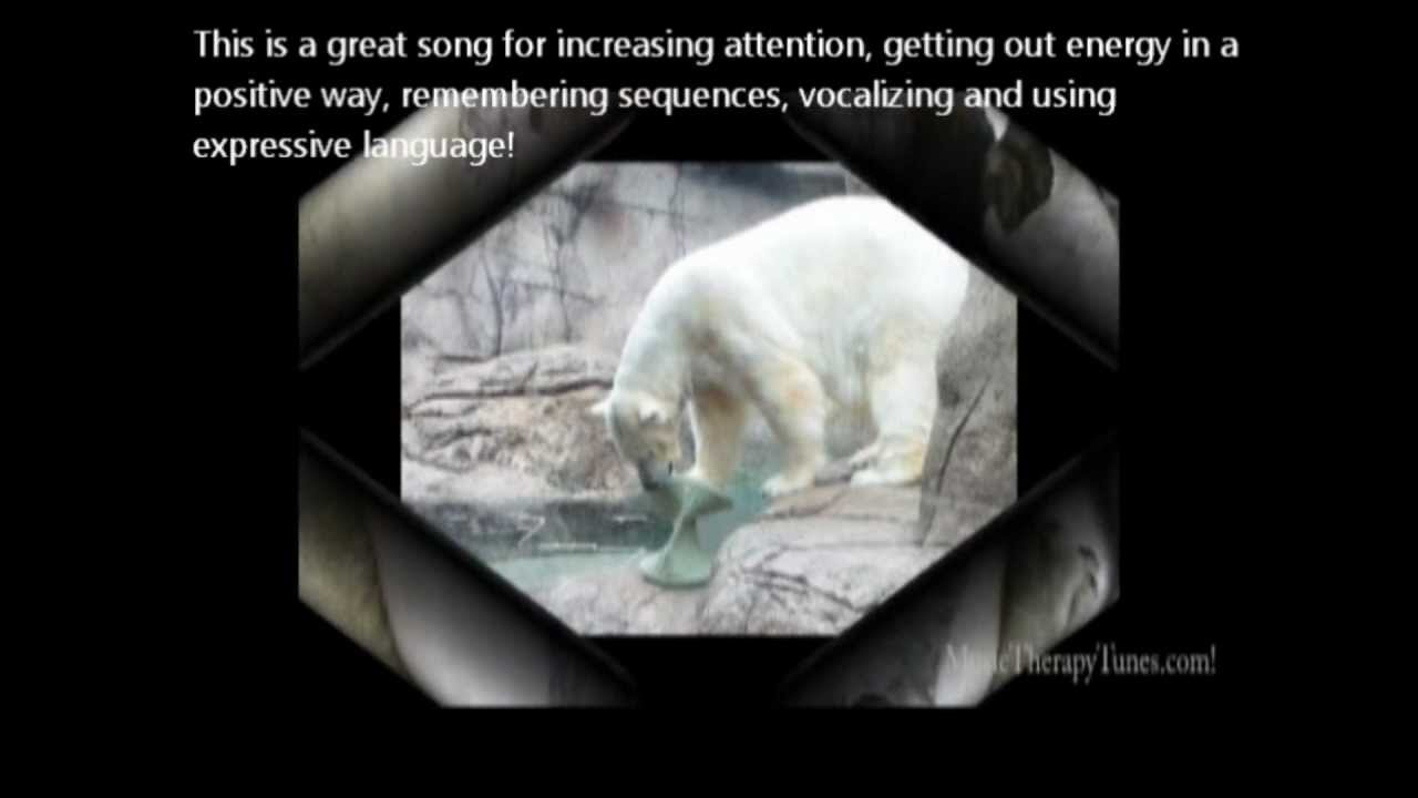 winter polar bear kids action songs for music therapy 4. Black Bedroom Furniture Sets. Home Design Ideas