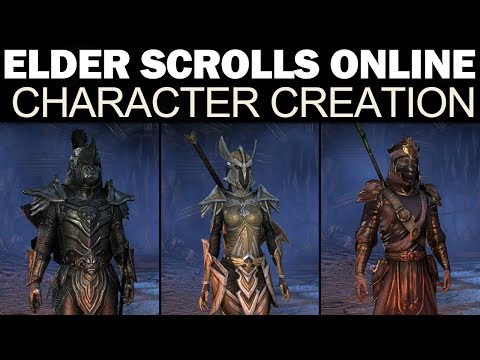 Skyrim Character Creation Starting Race Overview