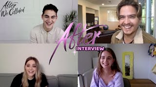 AFTER WE COLLIDED INTERVIEW - JOSEPHINE LANGFORD, HERO FIENNES TIFFIN, DYLAN SPROUSE & ANNA TODD