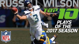 Russell Wilson's Top 10 Plays of the 2017 NFL Season   NFL Highlights