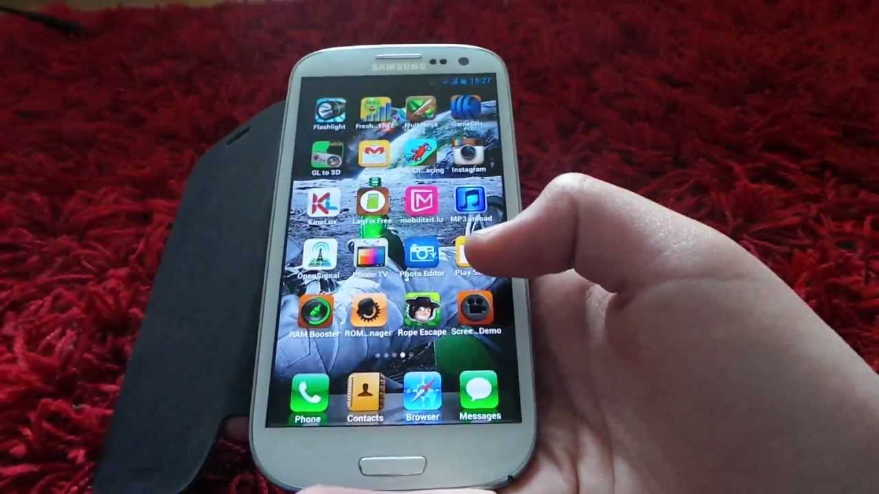 iphone theme for android best iphone ios theme for android 2013 no root required 15482