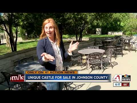 Castle in Shawnee hits international real estate market