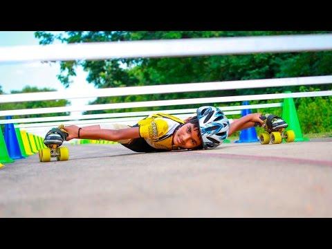 VIDEO: 'Choáng' với khả năng trượt limbo qua 53 chiếc xe của cậu bé 8 tuổi