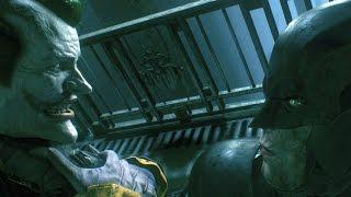 BATMAN vs JOKER Full Fight - Batman Arkham Knight