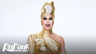 Brooke Lynn Hytes' 'Gold' Look Makeup Tutorial 💄 | RuPaul's Drag Race Season 11