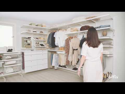 Elfa Décor   - Fleksibilitet, funksjon og luksus kombinert