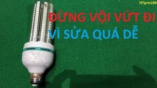 cách sửa bóng đèn LED đơn giản