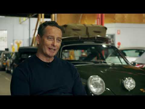 André Bezuidenhout and his Porsche 911
