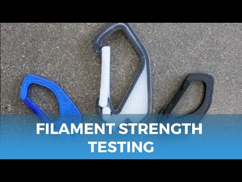 Filament Strength Testing