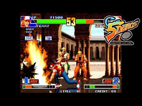 """[BIS] THE KING OF FIGHTERS '98 (LEVEL 8) (PODCAST CON SILVIO) - """"CON 5 DUROS"""" Episodio 56 (1cc)"""