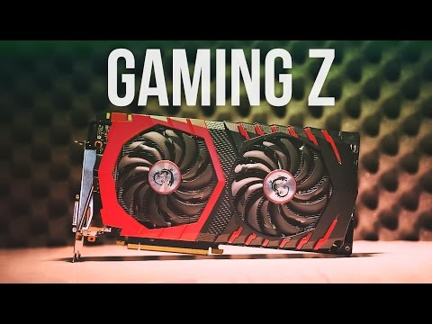video MSI GeForce GTX 1080 Gaming Z 8G