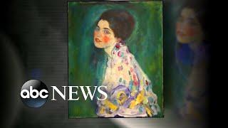 Long-lost artwork found hidden inside the walls of art museum | ABC News