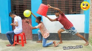 Indian New funny Video😄-😅Hindi Comedy Videos 2019-Episode-54--Indian Fun    ME Tv