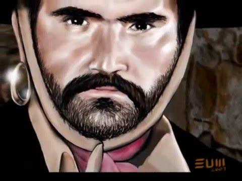 Vicente Fernandez es El Arracadas. Digital Paint