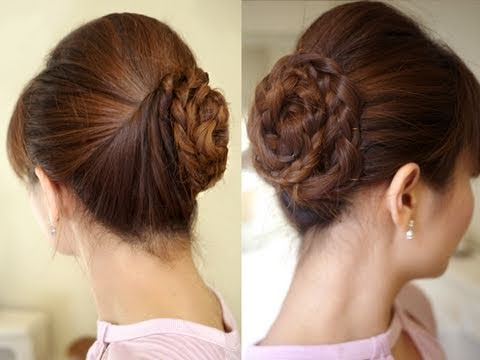 Hair Tutorial: Formal Prom Hair Updo - YouTube
