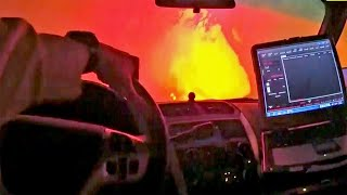 Officer's Body Cam Captures Terrifying Moments During Wildfire Evacuations