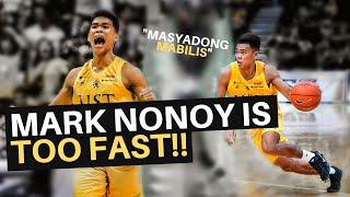 FASTEST POINT GUARD IN THE PHILIPPINES??? // Mark Nonoy UAAP Season 82 Highlights!!