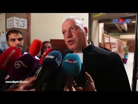 لأول مرة المحامي زهراش يرفض الكلام بسبب سرية الجلسات في قضية بوعشرين