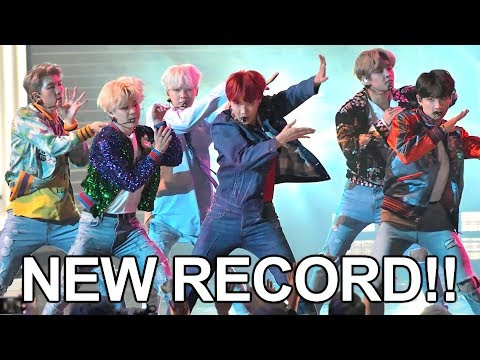 BTS Sets NEW Guinness WORLD RECORD