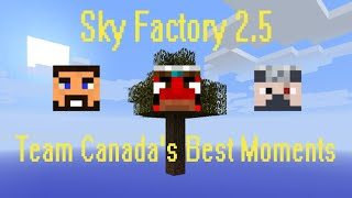 Minecraft - Team Canada's Best Moments in Sky Factory 2.5