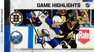 Bruins @ Sabres 10/22/21 | NHL Highlights