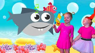 Baby Shark Dance Songs | Kids Songs and Nursery Rhymes | Animal Songs