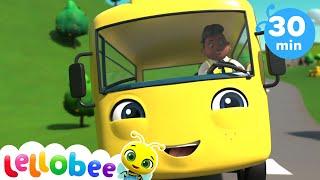🚌 Wheels on the bus SONG 🚌 Baby Songs | +More Nursery Rhymes & Kids Songs | Little Baby Bum