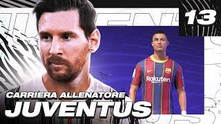 🚨 SCAMBIO RONALDO per MESSI! CALCIOMERCATO! FIFA 21 CARRIERA ALLENATORE JUVENTUS! EP.13