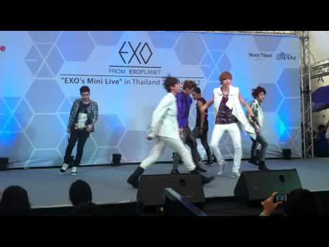 [FANCAM] 120727 MAMA - EXO's Mini Live in Thailand