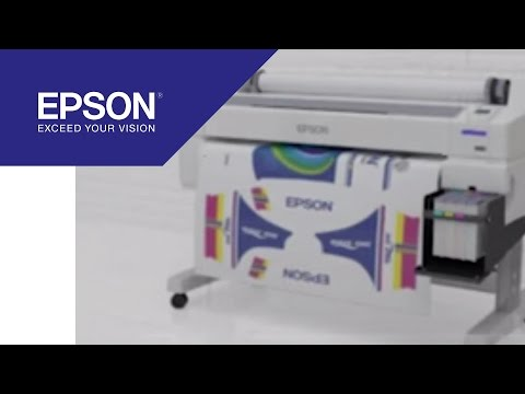 44-inch digital dye sublimation printer for reliable, high-quality textile printing | Epson