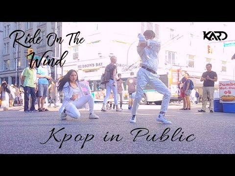 [KPOP IN PUBLIC - RIDE ON THE WIND DANCE COVER - GENDER SWAP VERSION] -- KARD -- 카드 [YOURS TRULY]