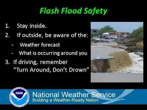Flash Flood Safety - YouTube