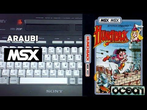 Hunchback (Ocean, 1984) MSX [510] Walkthrough Comentado