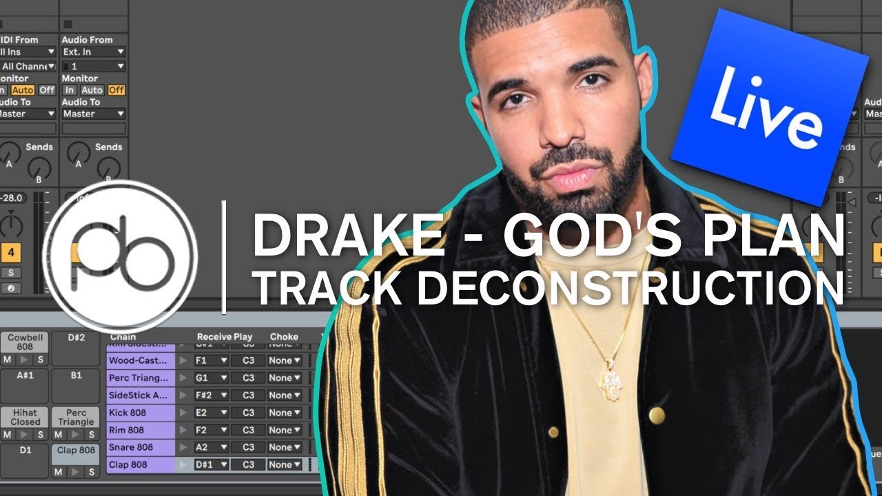 Drake - God's Plan Deconstruction in Ableton