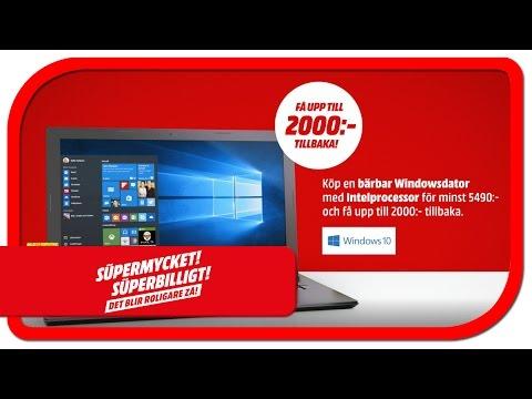 Microsoft Windows med Intelprocessor - få upp till 2000 kr tillbaka!*
