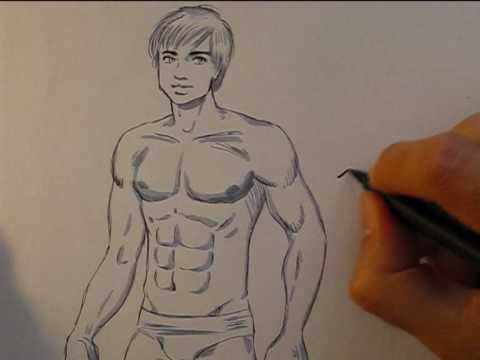 How To Draw A Naked Man 110