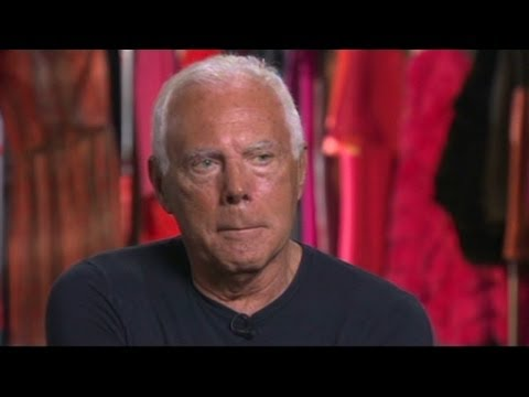 Giorgio Armani on how he tries to stay ahead of the curve - YouTube