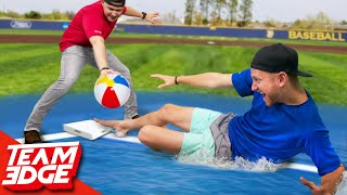 Slip 'N Slide Beachball Baseball!!