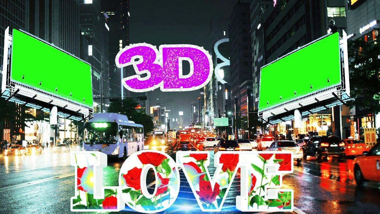 3D Wedding photo frame green screen 2019 | HD video project #28  #Rajufunnyraj