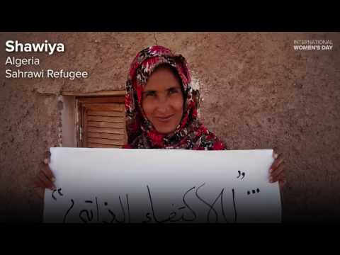 UNHCR Supports Women's Right to Decent Work