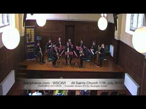 WSCXVI ENSEMBLE OCT´OPUS    Concerto Grosso Nº3 by Arcangelo Corelli