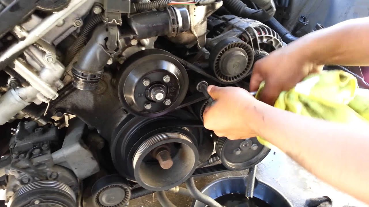 2002 Bmw 530i Wiring Diagram Will Be A Thing 2005 2006 330i Serpentine Belt Get Free E65