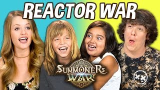 WAR BETWEEN REACTORS! - College Kids & Kids React Special
