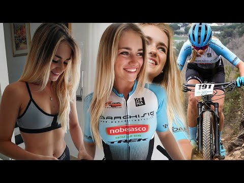 "Francesca Saccu a ""Cicliste in streaming"""
