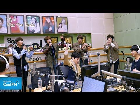 골든 차일드 (Golden Child)의 '땡땡땡(원곡: 슈프림팀)' 노래방 라이브 LIVE /180214[이홍기의 키스 더 라디오]