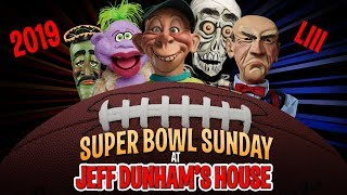 Rams vs. Patriots! Super Bowl Sunday at Jeff Dunham's House 2019! JEFF DUNHAM